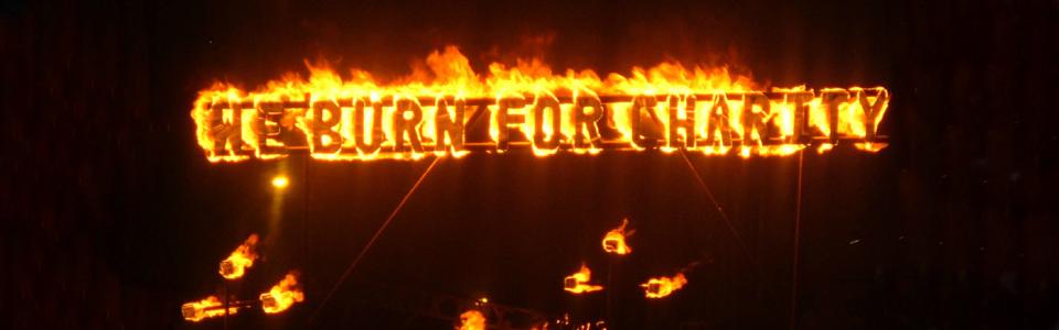 We Burn For Charity